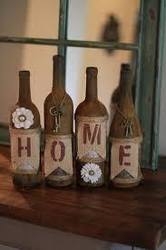 My wine bottle crafts #decoratedwinebottles #recycledwinebottles