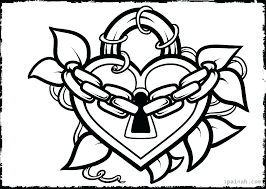 Coloring Pages Of Hearts Love Heart Coloring Pages Love Coloring