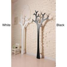 White Coat Rack Tree Contemporary Black White Mila Coat Rack 28
