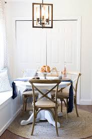 nook lighting. Vintage Bulbs, White Walls - Light Bright And Gorgeous Breakfast Nook Lighting U