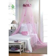 canopy toddler bed girl