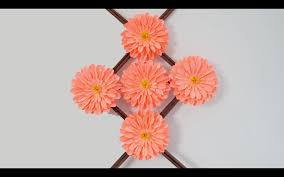 Flower Making Paper How To Make Flower With Craft Paper How To Learn Diy Quick And