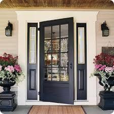 Exterior Doors With Glass Exterior Door Glass Insert Replacement