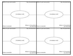 Frayer Model Template 6 Per Page Frayer Model Template 2 Per Page Magdalene Project Org