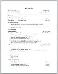 College student resume examples little experience is one of the best idea  for you to make a good resume 8