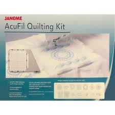 Acufil Quilting Designs Acufil Quilting Kit Janome 862412005