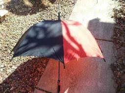 Vintage 80s <b>Aramis</b> Leather Handled Outdoor Rain Umbrella Two ...