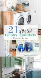 21 of the best laundry room hacks custom laundry pedestal diy laundry room ideas