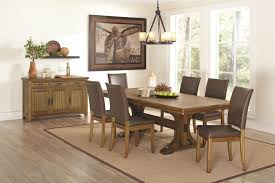 rustic dining table and chairs. Furniture Rustic Leather Dining Room Chairs Appealing Table For Pict Of And