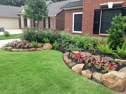 Great Simple Front Landscaping Ideas Landscape Simple Front Yard  Landscaping Ideas Small Front Yard