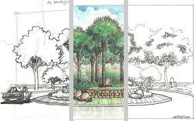 architecture design drawing techniques. Landscape Design Drawing Techniques Architecture Plan P