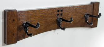 Arts And Crafts Coat Rack Coat Rack 100 Inch 100 Cast Iron Hook Arts And Crafts Mission Style 3
