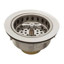 Belle Foret 35 In Spin Lock Sink Strainer In Stainless Steel