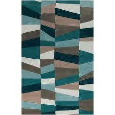 artistic weavers emil teal 5 ft x 8 ft indoor area rug
