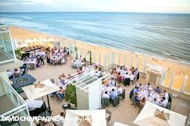 wedding venues in virginia beach va outdoor reception on floor sundeck at resort hotel weddings beach wedding venues in virginia beach