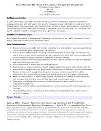 Sample Resume For Occupational Therapist Best Of Jenny Marchand CV Updated