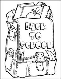 Small Picture First Day Of School Coloring Page Download Free First Day Of