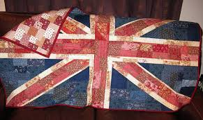 Indianna Dreams: More Shabby Than Chic Union Jack & Shabby Chic Union Jack Quilt Adamdwight.com