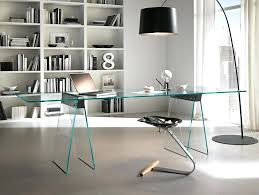 decoration office furniture contemporary glass desks all design in on home remarkable 4 uk