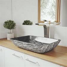 vigo titanium vessel bathroom sink with