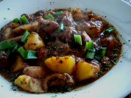 Octopus Stew Portuguese Style Recipe