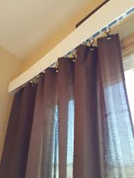vertical blind replaced with curtain