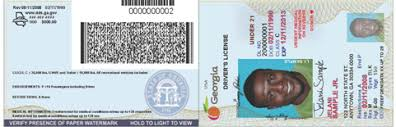 License barcode Driver Services For Of Georgia Business Department Partners Information