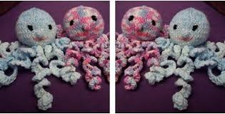 Crochet Octopus For Premature Babies Pattern Enchanting Adorable Knitted Preemie Octopus [FREE Knitting Pattern]