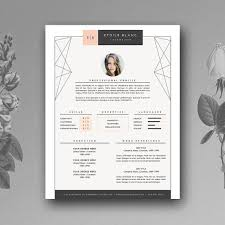 Pretty Resume Template 2