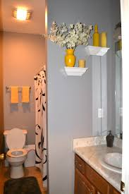 fancy grey and yellow bathrooms 24 ilsasolutions grey bathroom window curtains com