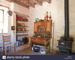 Farm Kitchen Early 1900s Farm Kitchen With No Electricity Or Running Water At