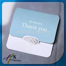 Elegant Greeting Cards Simple Design For Company Thank You Card