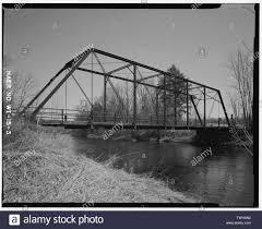 SIDE VIEW LOOKING SOUTHEAST - Polley Lane Bridge, Spanning Yellow River at Polly  Lane, Gilman, Taylor County, WI; Wegman-French, Lysa, transmitter Stock  Photo - Alamy