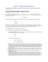 It outlines the rights, obligations of the shareholders and provisions related to the management and the authorities of the company. 50 Best Shareholder Agreement Templates Samples ᐅ Templatelab