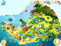 Angry Birds Epic Piggy Island Aerial View