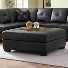 7 perfect leather ottoman coffee table