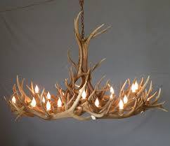 lighting fascinating real antler chandelier 13 moose faux picture 1000 images about chandeliers on real antler