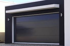 modern garage doors. I Say That Because An All Black Garage Door Can\u0027t Be Pulled Off By Just Any Old Exterior, But It Looks Awesome In This Case. Modern Doors M