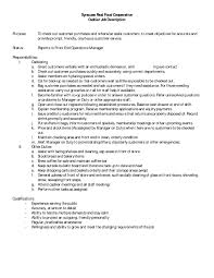 Resume For Cashier Job store assistant responsibilities Tolgjcmanagementco 27