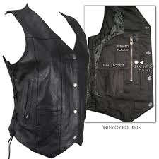 whole leather motorcycle distributor 10 pocket las cowhide leather motorcycle vest myleather com