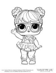 Lol House Coloring Page Lol Doll Coloring Pages Sugar Series 1