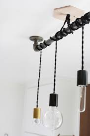 Diy Pendant Lighting 25 Wonderful Things You Can Make With Pipe Diy Pipe Pipes And