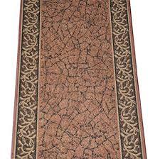 Dean Custom Length Washable Carpet Rug Runner Garden Path Green
