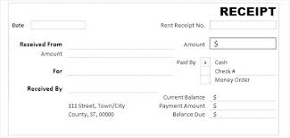 Cash Receipt Format Word Formats Payment In Template Petty