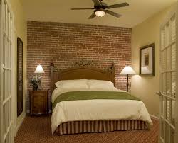 Small Picture Interior Impressive Faux Brick Wall Bedroom Decorating Ideas