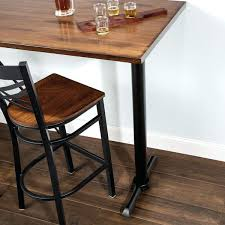 black iron table base table seating 5 x black metal table base with self leveling feet black iron table base