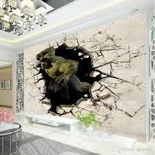 Small Picture Avengers Boys Bedroom Photo Wallpaper 3d Hulk Wall Mural Designer
