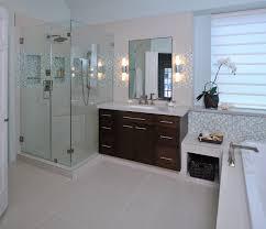 Simple Modern Bathroom Remodels Remodel With Mosaic Tile Modernbathroom Intended Models Ideas