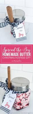 Hostess Gift Spread The Joy Homemade Butter Christmas Hostess Gift I Heart