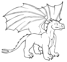 dragon coloring book for s new dragon drawing pages at getdrawings